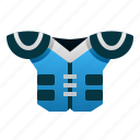 armor, uniform, pad, rugby, american, football, sport