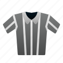 referee, shirt, uniform, rugby, american, football, sport