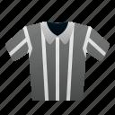 referee, shirt, uniform, rugby, american, football, sport