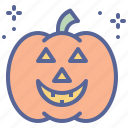 halloween, horror, lantern, pumpkin icon