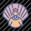 bird, poultry, thanksgiving, turkey icon