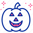 halloween, horror, lantern, pumpkin icon