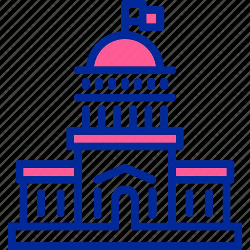 house, inauguration, president, white icon