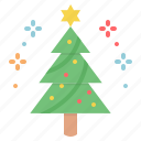 celebrate, christmas, star, tree, hygge, new year, decoration