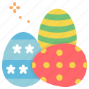 decorate, easter, eggs, paschal icon