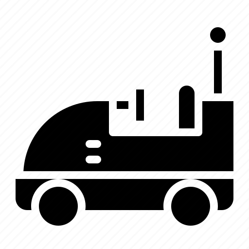 amusement, bumper, car, park, theme icon