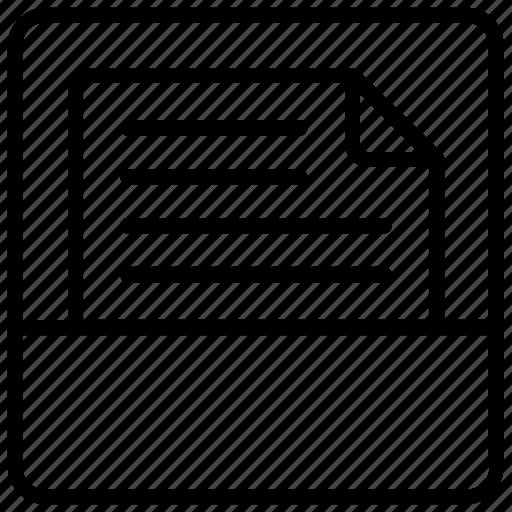 document folder, folder, folder file, paper folder, paper pocket icon