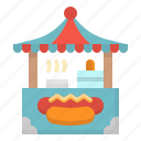 sausage, hotdog, restaurant, food, sandwich icon