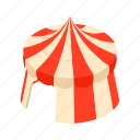 amusement, carnival, cartoon, circus, entertainment, show, tent icon