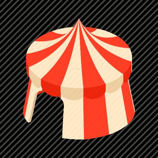 amusement, carnival, cartoon, circus, entertainment, show, tent icon