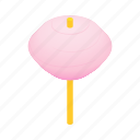 candy, floss, food, isometric, stick, sugar, sweet