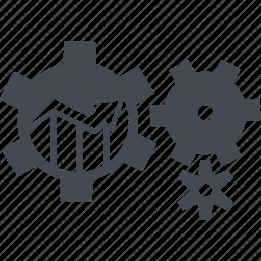 analysis, chart, optimization, seo, statics icon