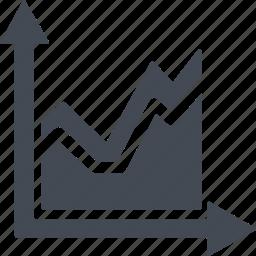 analysis, analytics, chart, diagram, graph, statics, statistics icon