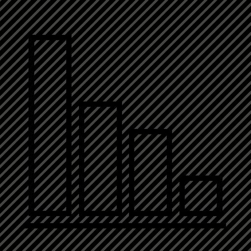 Bars, chart, delination, diagram, graph, schema icon - Download on Iconfinder
