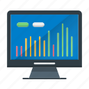graph, growth, investments, market, stock icon