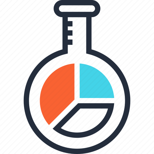 chart, chemistry, finance, laboratory, research, science, statistics icon