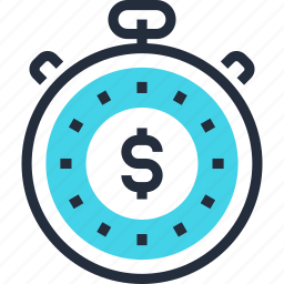 clock, management, money, stopwatch, time, timer, watch icon