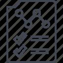 analytics, analyze, card, internet, page, report, seo icon