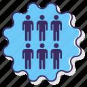 anatomy, collective, immunity, people icon