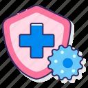 anatomy, health, immune, system icon
