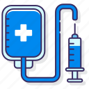 heal, infusion, injection, therapy icon
