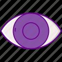 eyeball, iris, eye