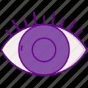 lashes, eye, lash