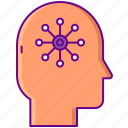 system, nervous, nerve icon