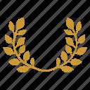 branch, crown, god, haplet, laurel, winner
