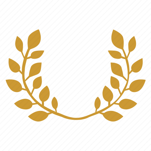 branch, crown, god, haplet, laurel, winner icon