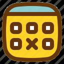 android, aplication, app, calendar, phone icon