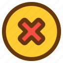android, aplication, app, cancel, phone icon