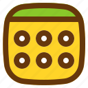 android, aplication, app, date, phone icon