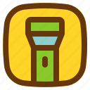 android, aplication, app, flash, phone icon