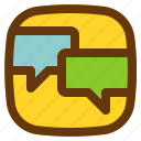 android, aplication, app, message, phone icon