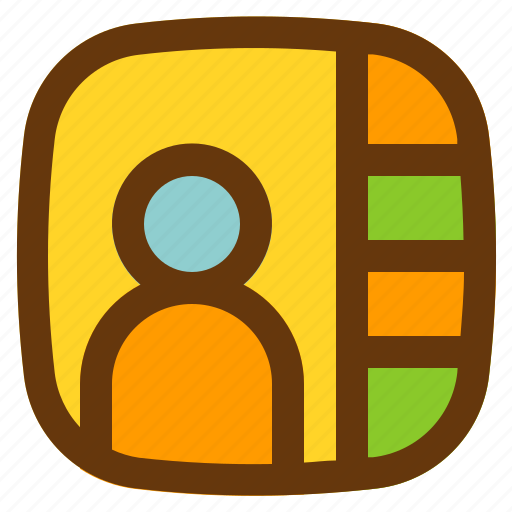 android, aplication, app, people, phone icon