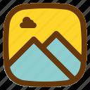 android, aplication, app, phone, photos icon