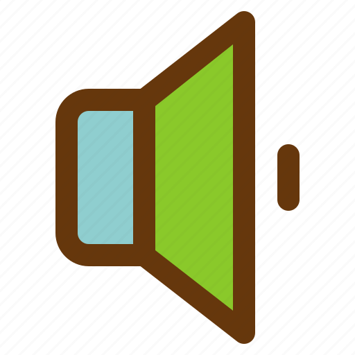 android, aplication, app, low, phone, sound icon