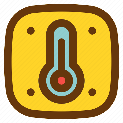 android, aplication, app, phone, temperature icon