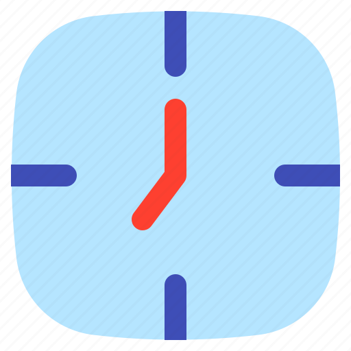 android, aplication, app, clock, phone icon