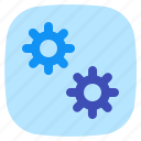 android, aplication, app, cog, phone icon