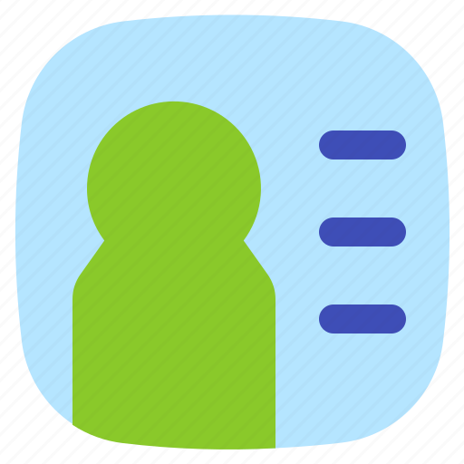 android, aplication, app, contact, phone icon