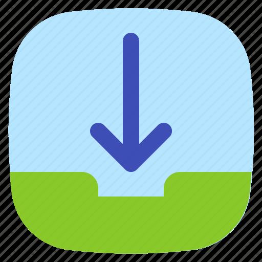 android, aplication, app, inbox, phone icon