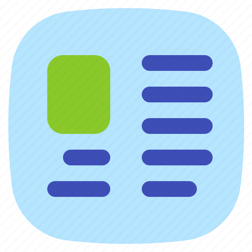 android, aplication, app, news, phone icon