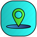 android, aplication, app, location, phone icon