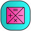 android, aplication, app, calculator, phone icon