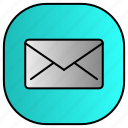 android, aplication, app, email, phone icon