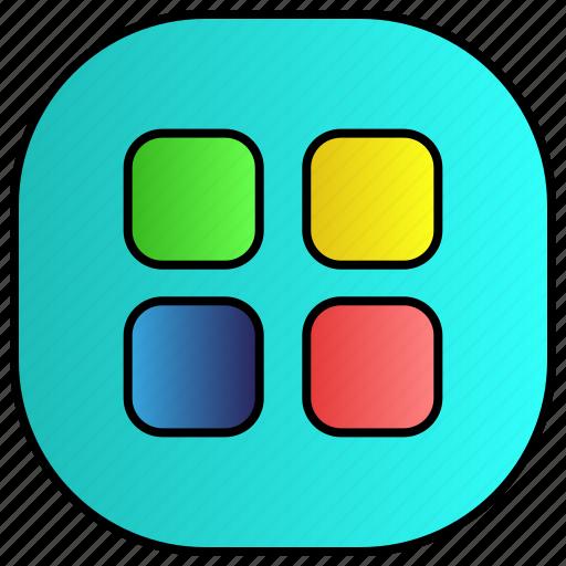 android, aplication, app, menu, phone icon