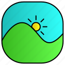 android, aplication, app, phone, photo icon