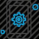 mobile, setting, application